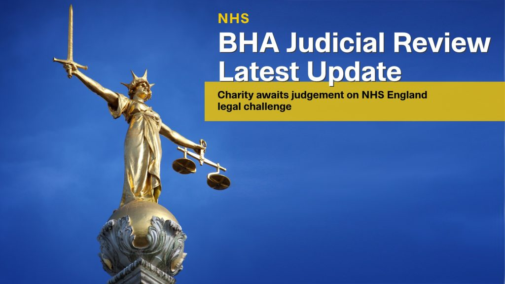 UK Charity takes NHS England to Court