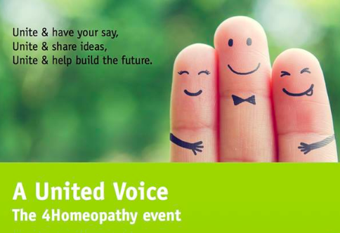 A United Voice – The 4Homeopathy Event